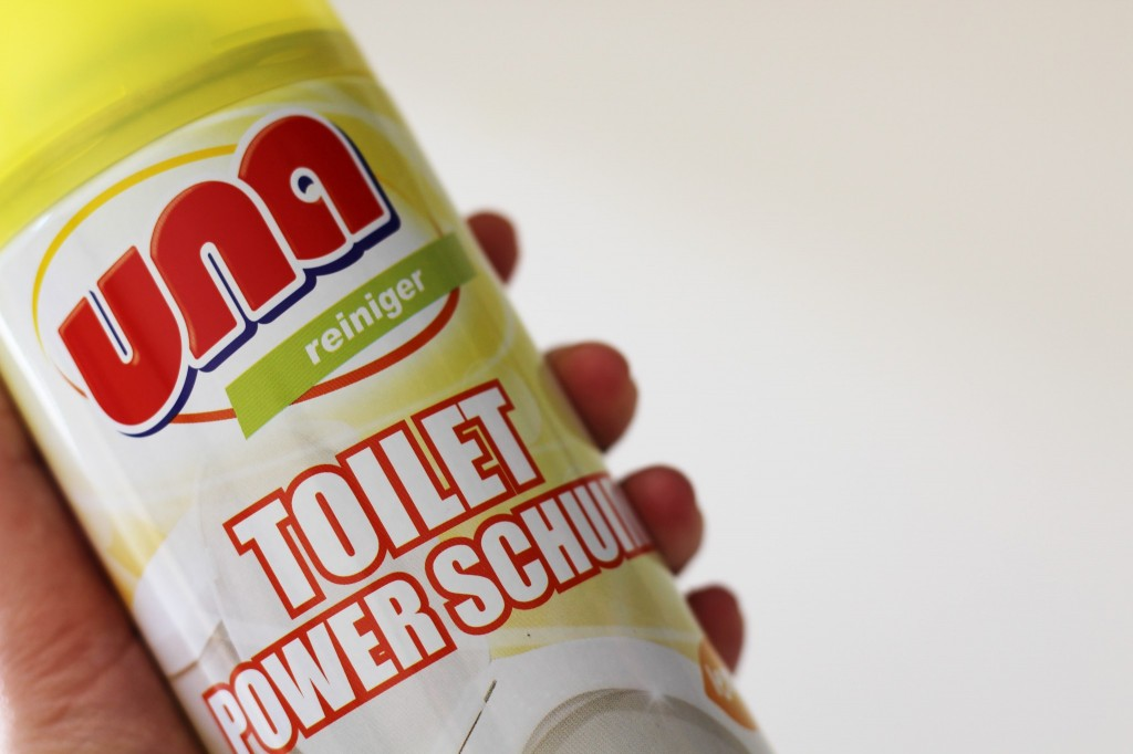 Una Toilet Power Schuim