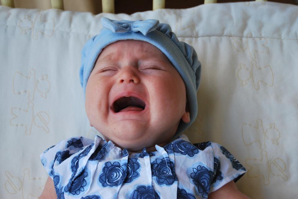 Het laten huilen van je baby