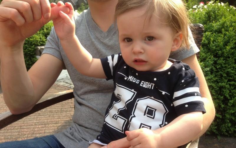 Hoera! Sophia 1 jaar!
