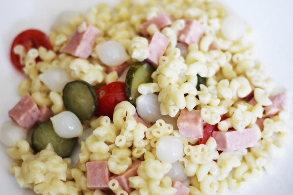 Makkelijke pastasalade