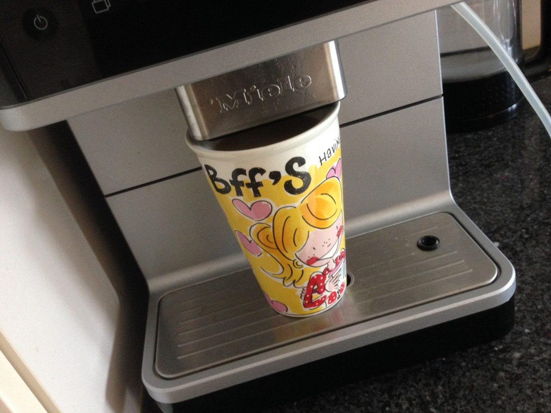 Minderen met koffie: lukt dat?