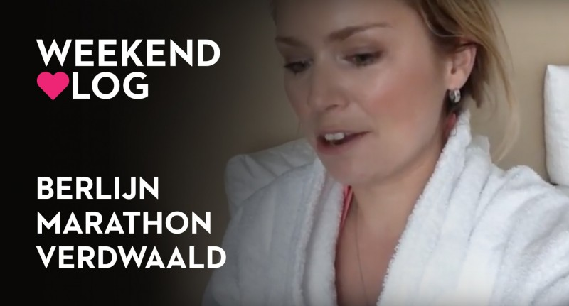 Extra vlog: Weekend Berlijn, verdwaald en marathon