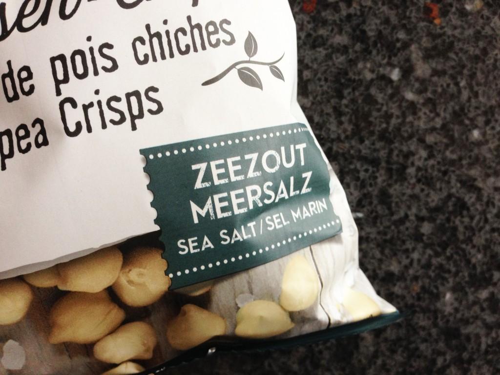 Kikkererwten chips zeezout