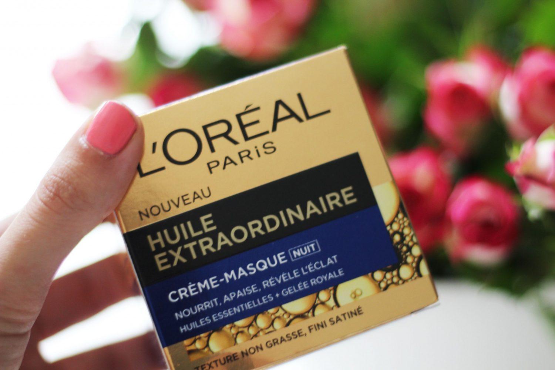 Review: L'Oréal ExtraOrdinary Oil Nacht Creme & Masker