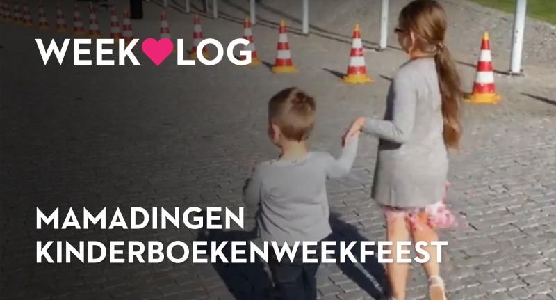 Weekvlog: Kinderboekenweekfeest en mamadingen