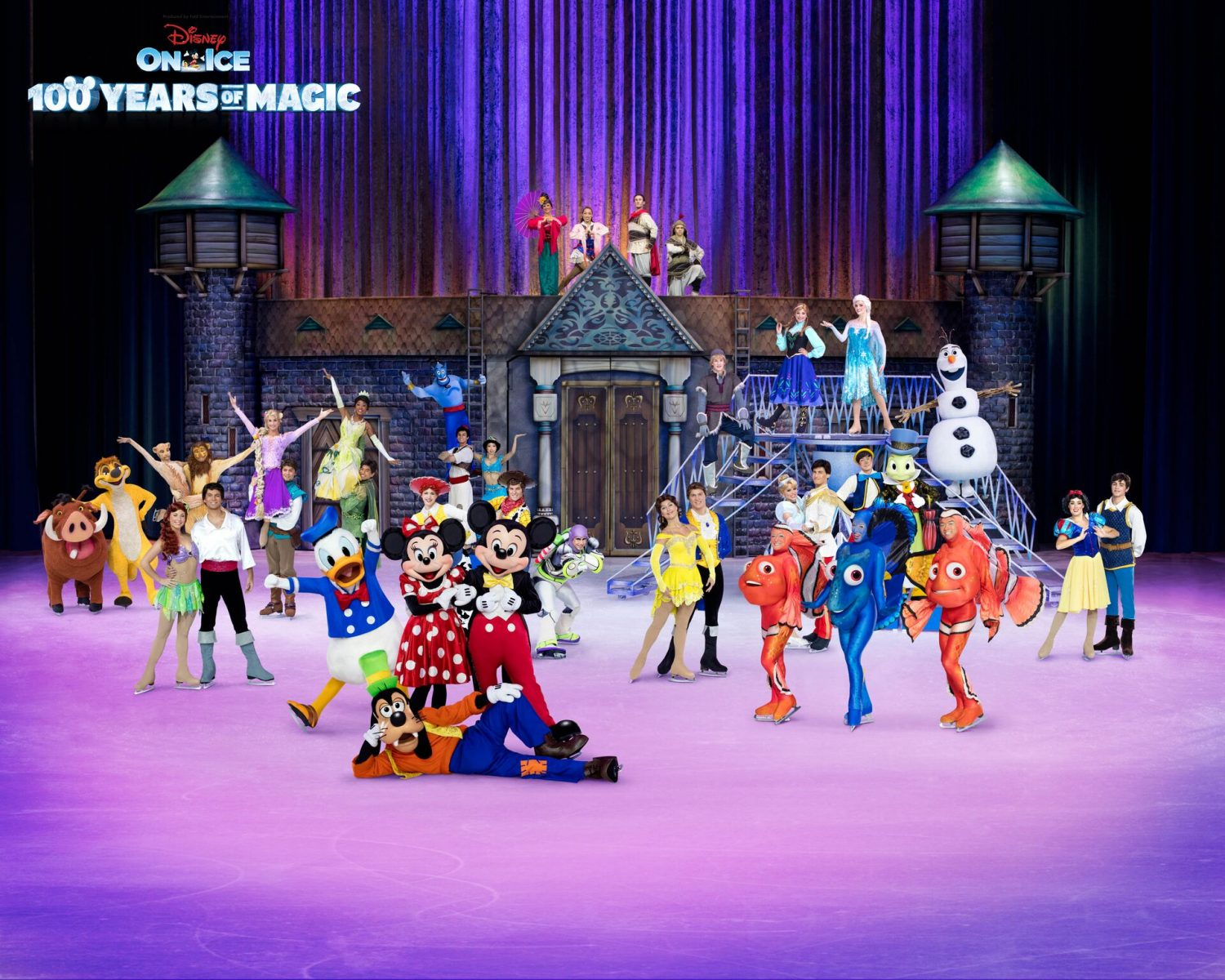 Win 4 zilveren tickets Disney on Ice viert 100 Years of Magic