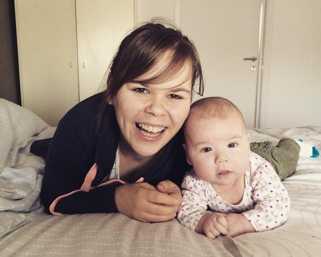 Vanessa werd onverwacht zwanger en kreeg een huilbaby