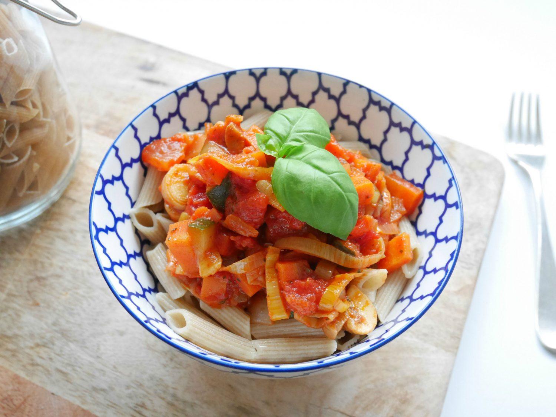 Recept: Pasta met Rode Saus!