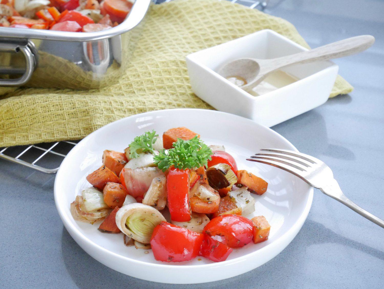 gegrilde groente oven