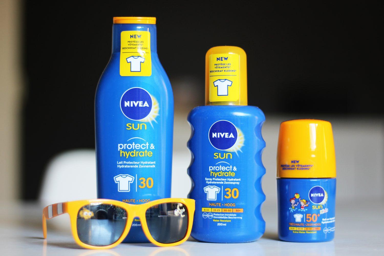 NIVEA SUN Nieuwe Formule: Gaat vlekken in kleding tegen