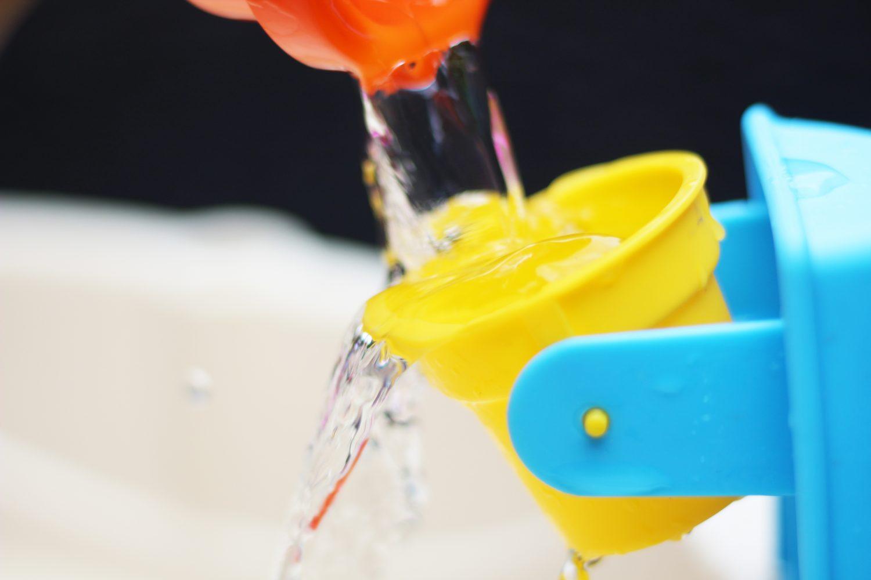 spelen met water