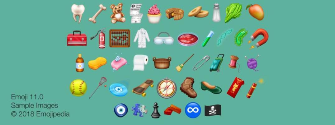 De nieuwe Emoji voor dit jaar! (het zijn er 157 en ze zijn leuheuk!)