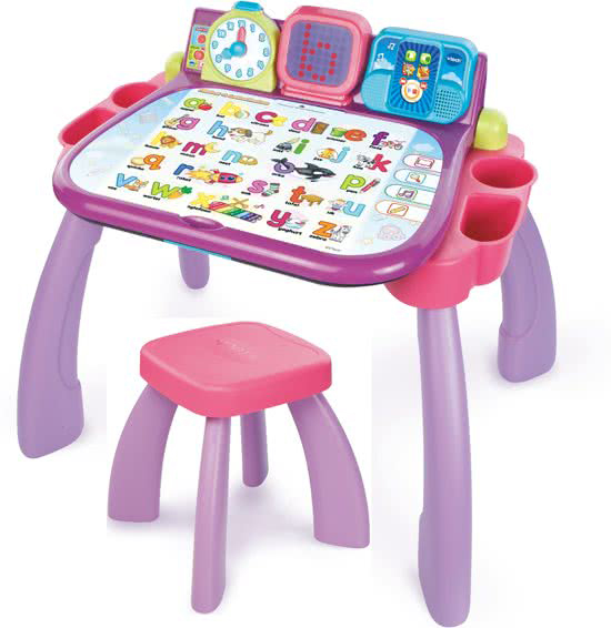 Vtech roze bureau