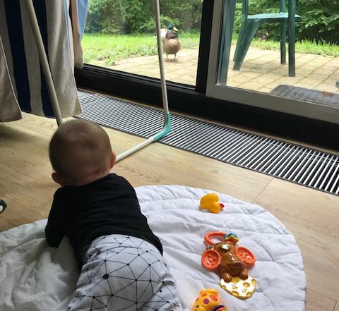 Weekend weg met een baby