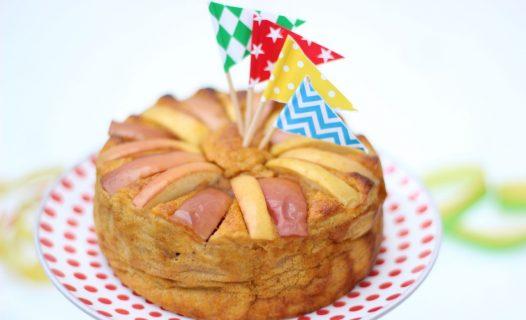 Gezonde taart voor baby's eerste verjaardag