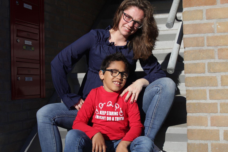 Samantha is mantelzorger voor haar zoon