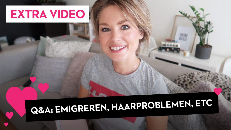 Q&A Verschil jongens/meisjes, haarproblemen, emigreren..