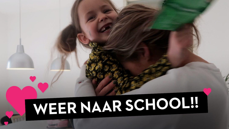 MENINGSVERSCHIL en VOOR HET EERST WEER NAAR SCHOOL!